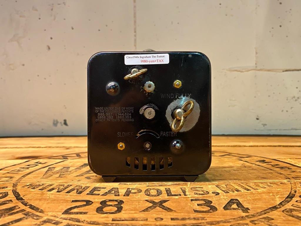 7月11日(土)マグネッツ大阪店アメリカン雑貨入荷日!! #1 AntiqueAlarmClock 1910\'~Westclox BigBen Style-1~9 &  INGRAHAM,ELGIN!_c0078587_14500402.jpg