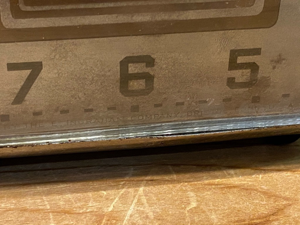 7月11日(土)マグネッツ大阪店アメリカン雑貨入荷日!! #1 AntiqueAlarmClock 1910\'~Westclox BigBen Style-1~9 &  INGRAHAM,ELGIN!_c0078587_14500778.jpg