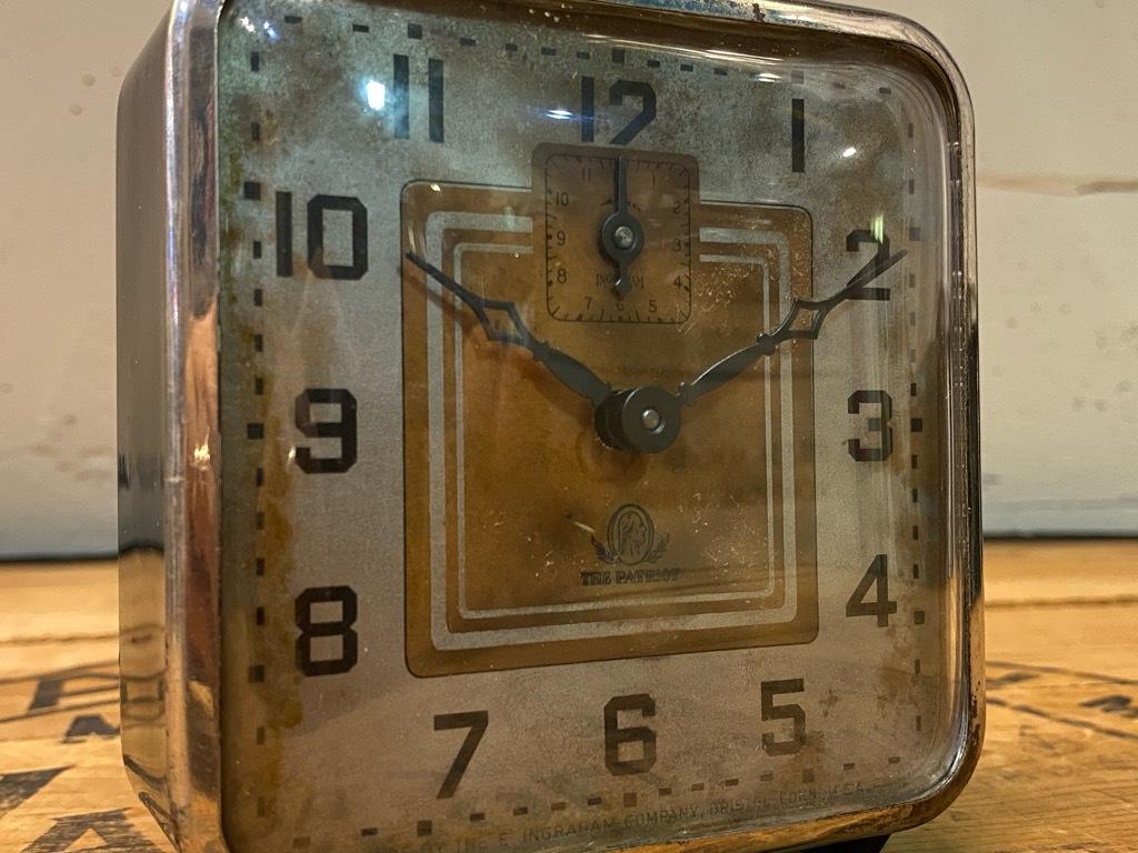 7月11日(土)マグネッツ大阪店アメリカン雑貨入荷日!! #1 AntiqueAlarmClock 1910\'~Westclox BigBen Style-1~9 &  INGRAHAM,ELGIN!_c0078587_14500801.jpg