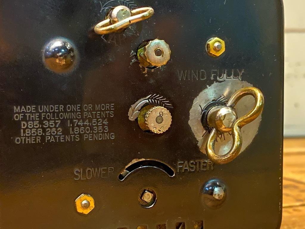 7月11日(土)マグネッツ大阪店アメリカン雑貨入荷日!! #1 AntiqueAlarmClock 1910\'~Westclox BigBen Style-1~9 &  INGRAHAM,ELGIN!_c0078587_14501496.jpg