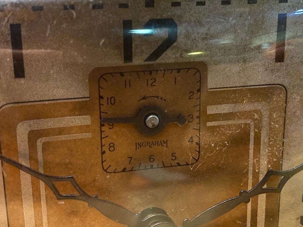 7月11日(土)マグネッツ大阪店アメリカン雑貨入荷日!! #1 AntiqueAlarmClock 1910\'~Westclox BigBen Style-1~9 &  INGRAHAM,ELGIN!_c0078587_14501587.jpg