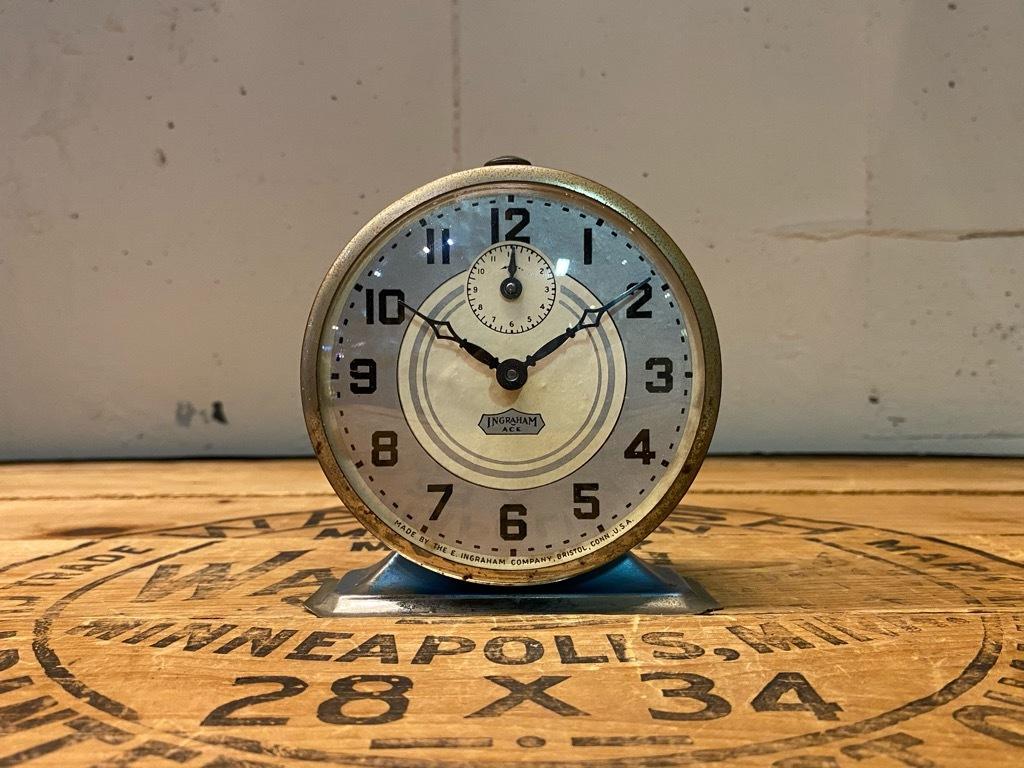 7月11日(土)マグネッツ大阪店アメリカン雑貨入荷日!! #1 AntiqueAlarmClock 1910\'~Westclox BigBen Style-1~9 &  INGRAHAM,ELGIN!_c0078587_14511434.jpg