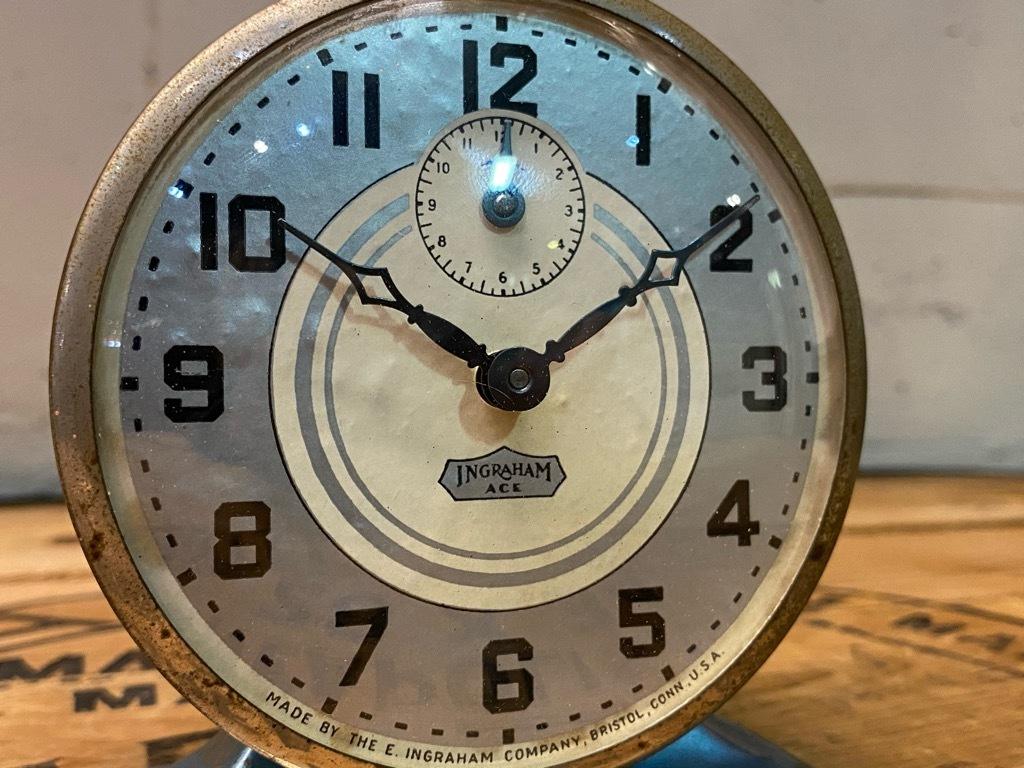 7月11日(土)マグネッツ大阪店アメリカン雑貨入荷日!! #1 AntiqueAlarmClock 1910\'~Westclox BigBen Style-1~9 &  INGRAHAM,ELGIN!_c0078587_14512185.jpg