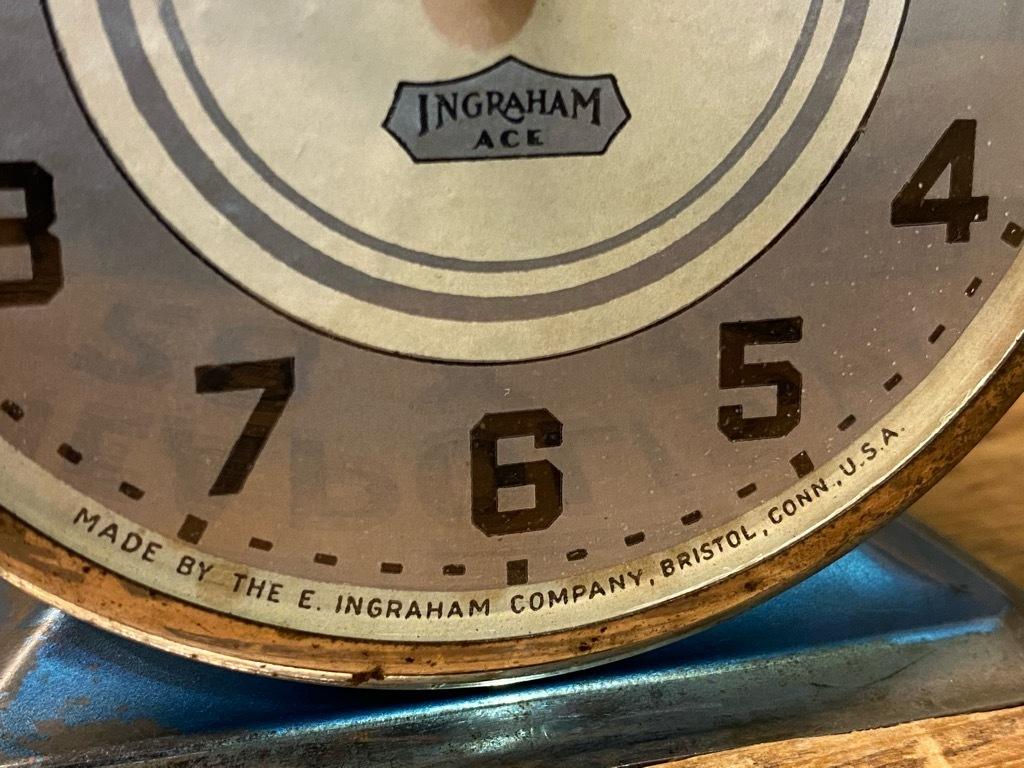 7月11日(土)マグネッツ大阪店アメリカン雑貨入荷日!! #1 AntiqueAlarmClock 1910\'~Westclox BigBen Style-1~9 &  INGRAHAM,ELGIN!_c0078587_14512187.jpg