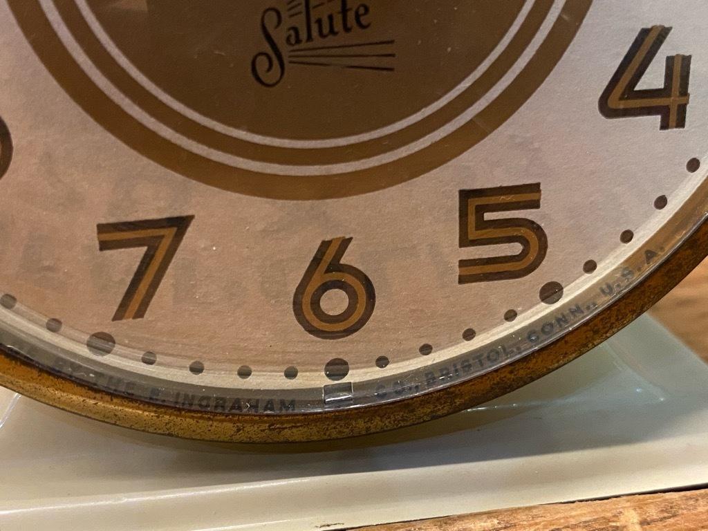 7月11日(土)マグネッツ大阪店アメリカン雑貨入荷日!! #1 AntiqueAlarmClock 1910\'~Westclox BigBen Style-1~9 &  INGRAHAM,ELGIN!_c0078587_14513811.jpg