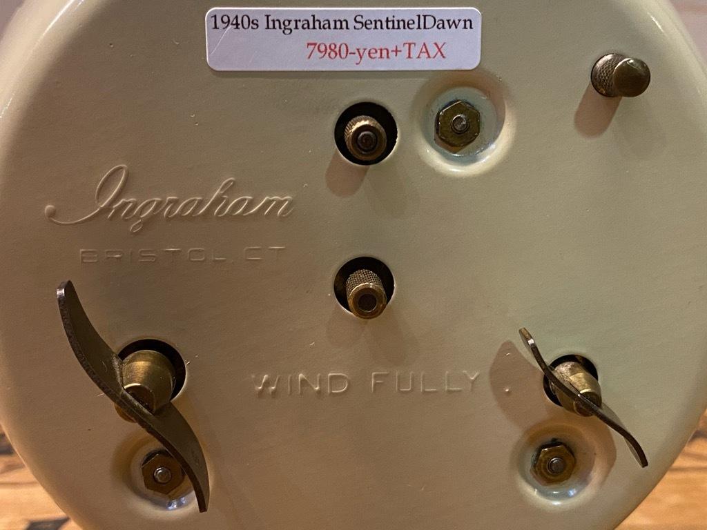 7月11日(土)マグネッツ大阪店アメリカン雑貨入荷日!! #1 AntiqueAlarmClock 1910\'~Westclox BigBen Style-1~9 &  INGRAHAM,ELGIN!_c0078587_14544085.jpg