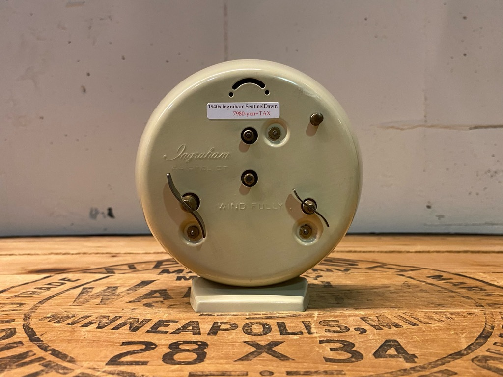 7月11日(土)マグネッツ大阪店アメリカン雑貨入荷日!! #1 AntiqueAlarmClock 1910\'~Westclox BigBen Style-1~9 &  INGRAHAM,ELGIN!_c0078587_14544089.jpg