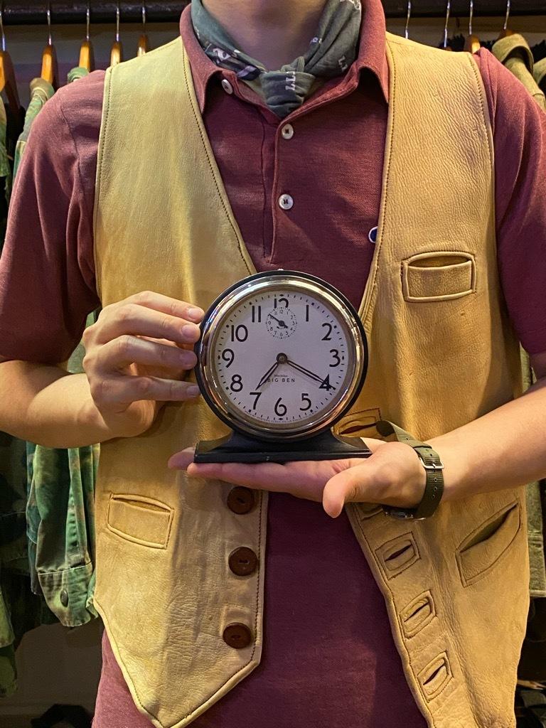 7月11日(土)マグネッツ大阪店アメリカン雑貨入荷日!! #1 AntiqueAlarmClock 1910\'~Westclox BigBen Style-1~9 &  INGRAHAM,ELGIN!_c0078587_19453252.jpg
