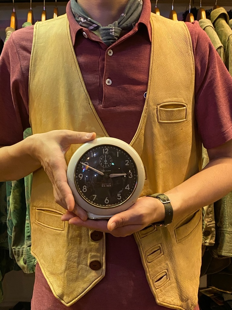 7月11日(土)マグネッツ大阪店アメリカン雑貨入荷日!! #1 AntiqueAlarmClock 1910\'~Westclox BigBen Style-1~9 &  INGRAHAM,ELGIN!_c0078587_19491157.jpg