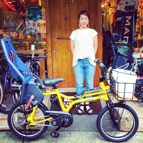 EZ! パナソニックez 電動自転車特集『バイシクルファミリー』Yepp ビッケ ステップクルーズ 電動自転車 おしゃれ自転車 チャイルドシート bobikeone BEAMS bp02 イーゼット_b0212032_17070981.jpeg