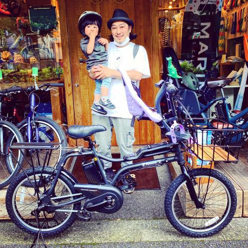 EZ! パナソニックez 電動自転車特集『バイシクルファミリー』Yepp ビッケ ステップクルーズ 電動自転車 おしゃれ自転車 チャイルドシート bobikeone BEAMS bp02 イーゼット_b0212032_17073269.jpeg