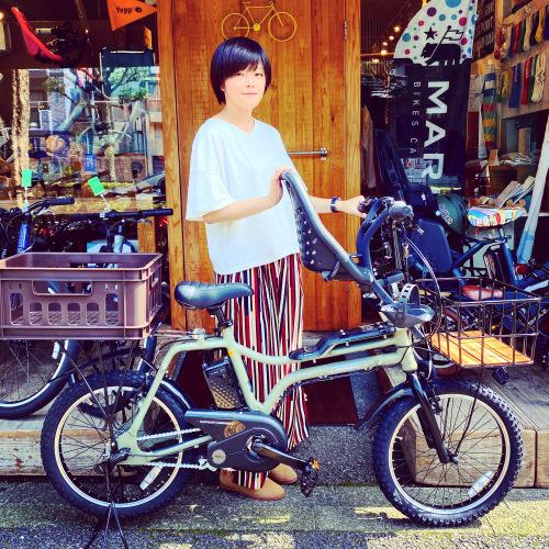 EZ! パナソニックez 電動自転車特集『バイシクルファミリー』Yepp ビッケ ステップクルーズ 電動自転車 おしゃれ自転車 チャイルドシート bobikeone BEAMS bp02 イーゼット_b0212032_17074700.jpeg