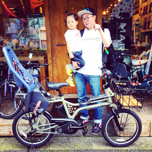 EZ! パナソニックez 電動自転車特集『バイシクルファミリー』Yepp ビッケ ステップクルーズ 電動自転車 おしゃれ自転車 チャイルドシート bobikeone BEAMS bp02 イーゼット_b0212032_17093530.jpeg