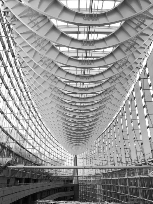 幾何学模様フェチ #5 東京国際フォーラム_f0050534_07583884.jpg