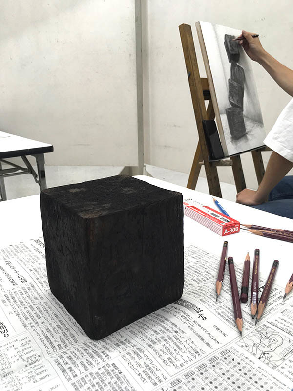 土日コース デッサンの授業/デザイン・工芸科_f0227963_11194035.jpg