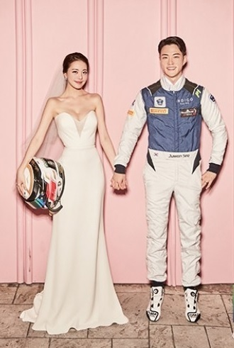 美女タレント キム・ミニョン 公開整形 ハートシグナル1のカーレーサー ソ・ジュウォンと結婚_f0158064_16183666.jpg