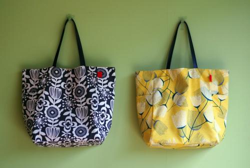 シンプルな「relax bag」はファブリックが主役_e0243765_23410289.jpg