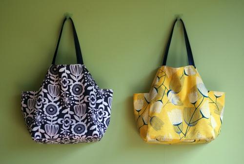 シンプルな「relax bag」はファブリックが主役_e0243765_23411620.jpg