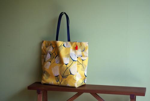 シンプルな「relax bag」はファブリックが主役_e0243765_23415188.jpg
