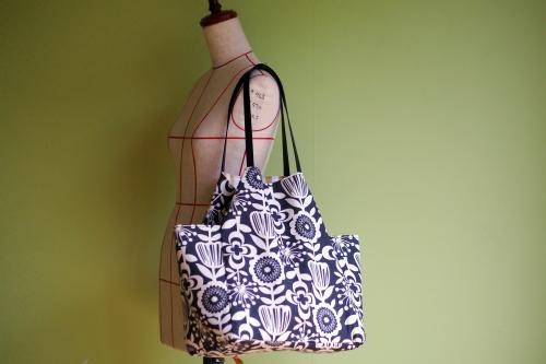 シンプルな「relax bag」はファブリックが主役_e0243765_23435741.jpg