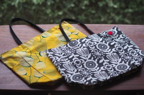シンプルな「relax bag」はファブリックが主役_e0243765_23443322.jpg
