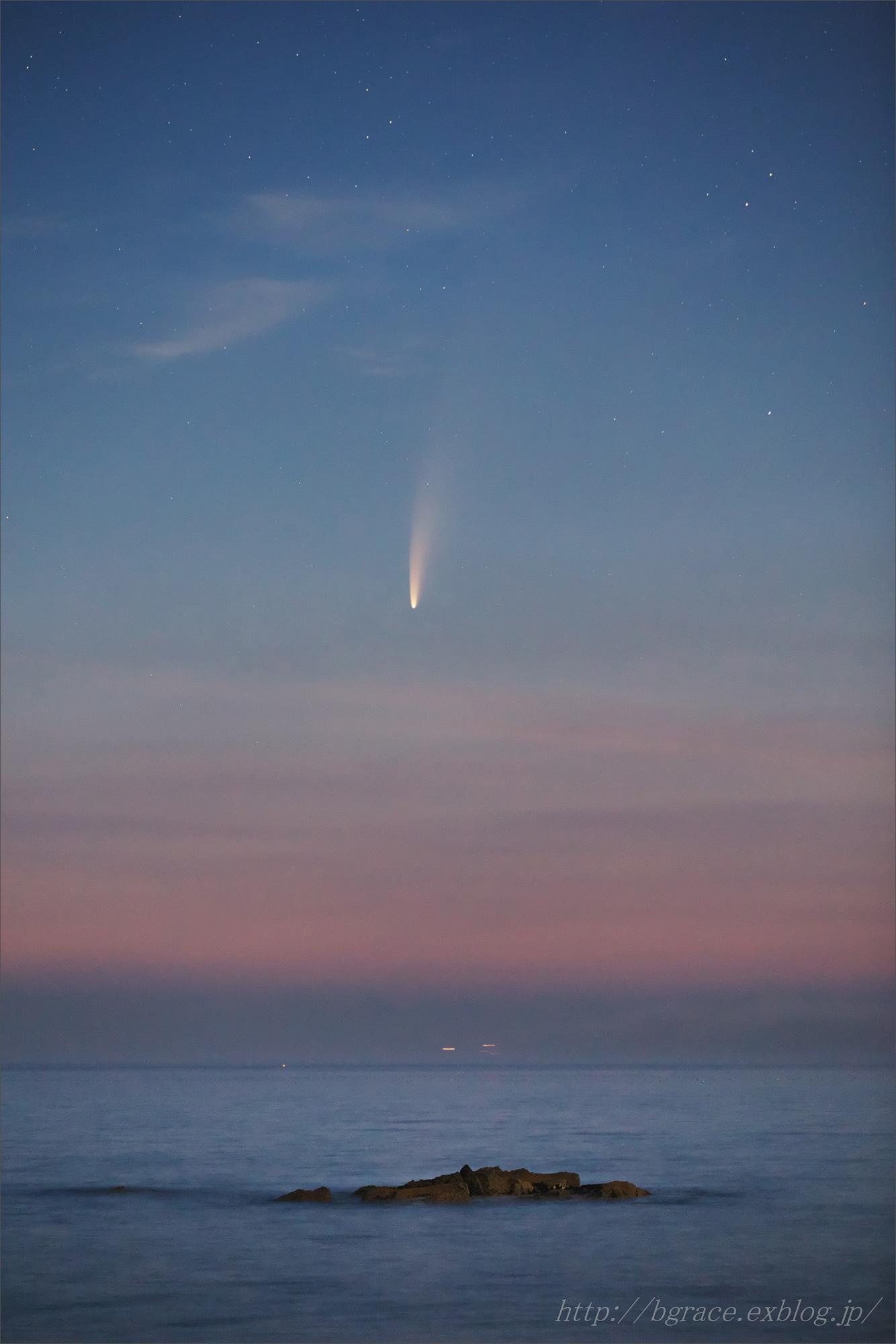 ネオワイズ彗星  C/2020F3 岩手県 前半_b0191074_16482300.jpg