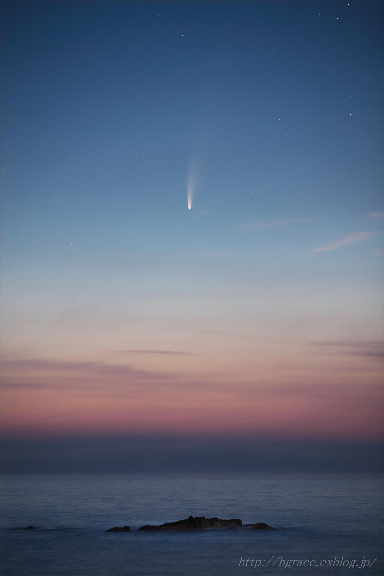 ネオワイズ彗星  C/2020F3 岩手県 前半_b0191074_16483510.jpg
