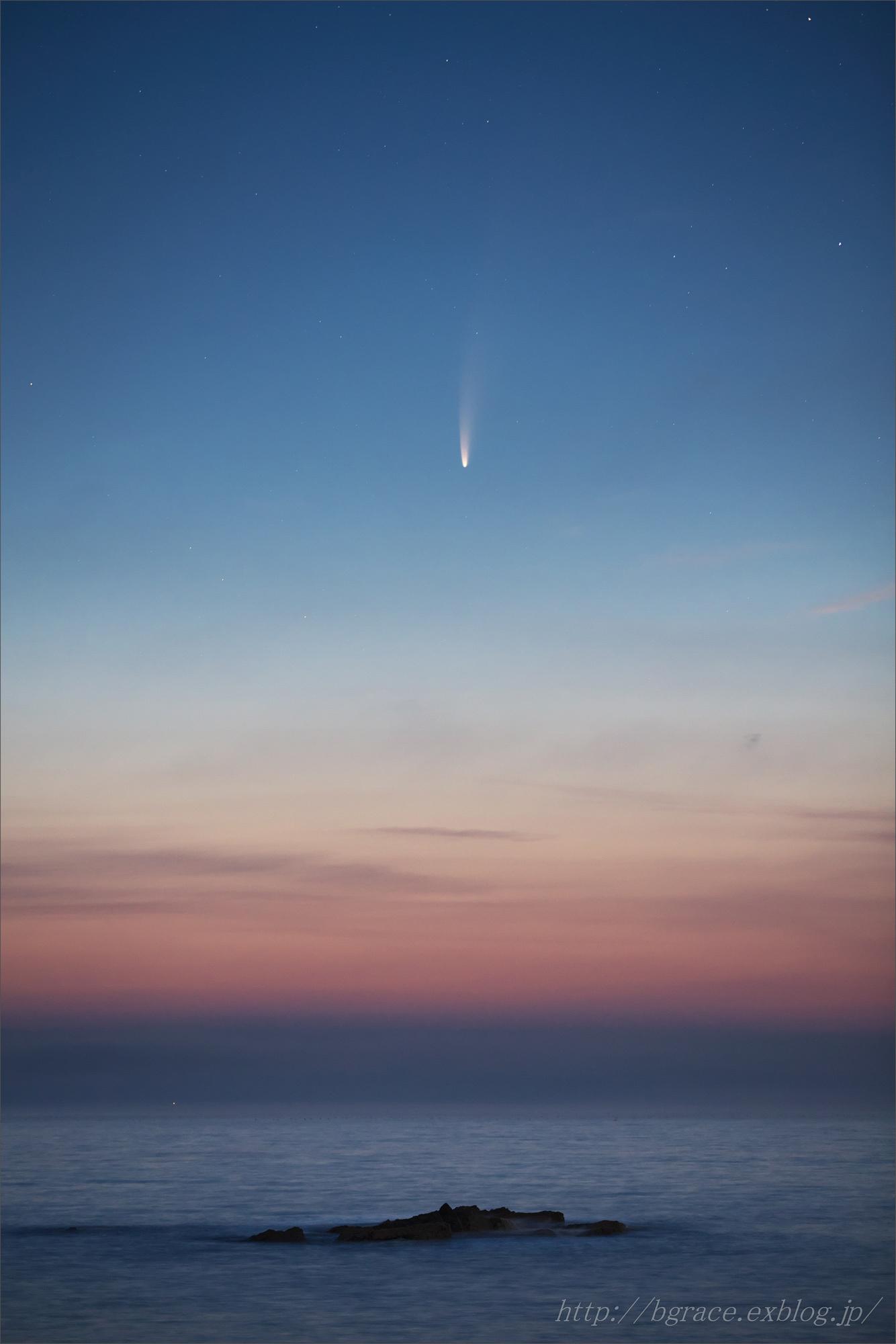 ネオワイズ彗星  C/2020F3 岩手県 前半_b0191074_16484646.jpg