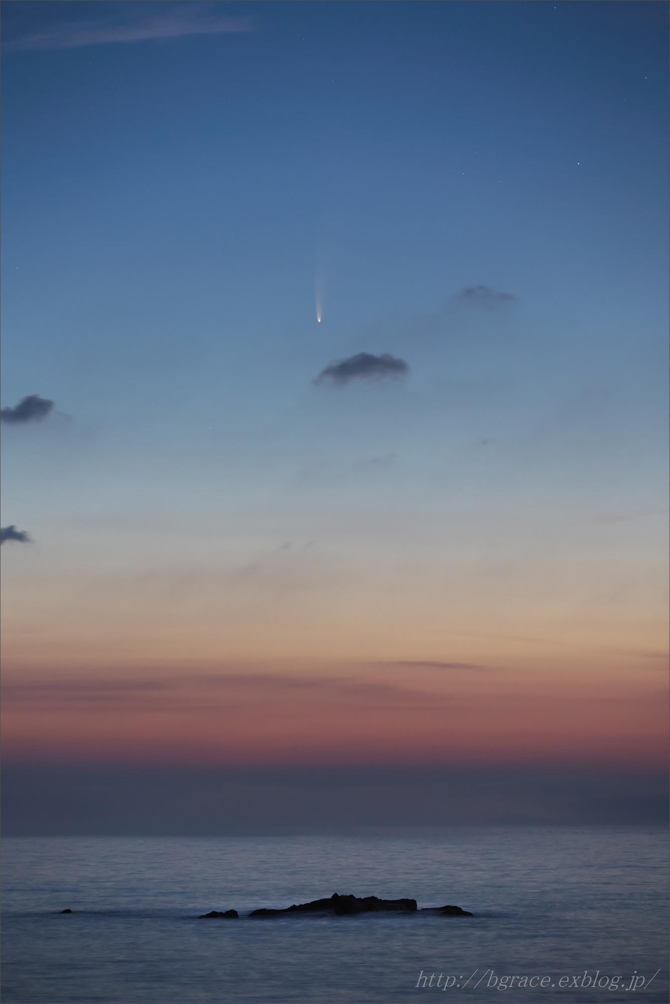 ネオワイズ彗星  C/2020F3 岩手県 前半_b0191074_16485550.jpg