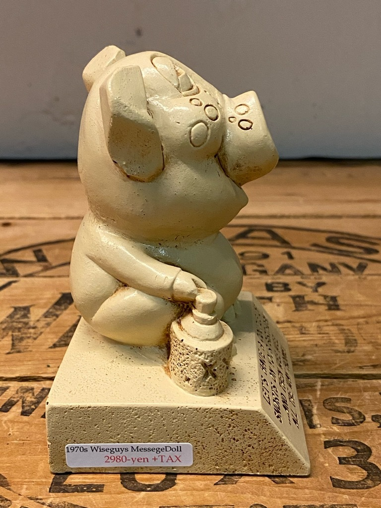 7月11日(土)マグネッツ大阪店アメリカン雑貨入荷日!! #2 Toy編!! 1913 Kewpie,50s MickyMouse,1982 E.T. & Piggy,Elephant!!_c0078587_15343119.jpg