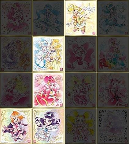 【開封レビュー】プリキュア色紙ART2(6個目~10個目)_f0205396_17470738.jpg
