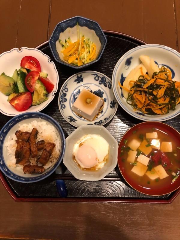 母の食卓〜焼きビーフンがマイブーム_f0106597_21380376.jpg