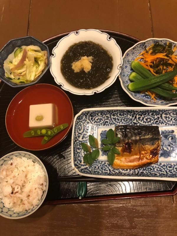 母の食卓〜焼きビーフンがマイブーム_f0106597_21384273.jpg