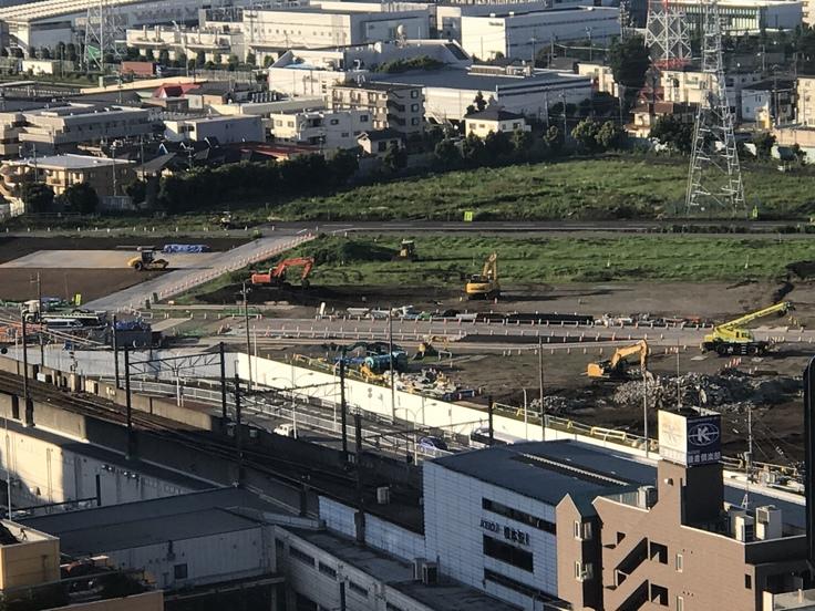 おはよう丹沢! リニア駅予定地のいま。_c0212604_746684.jpg