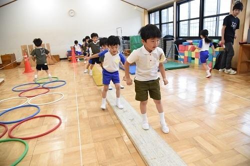 年長 体育教室_c0058507_18314985.jpg