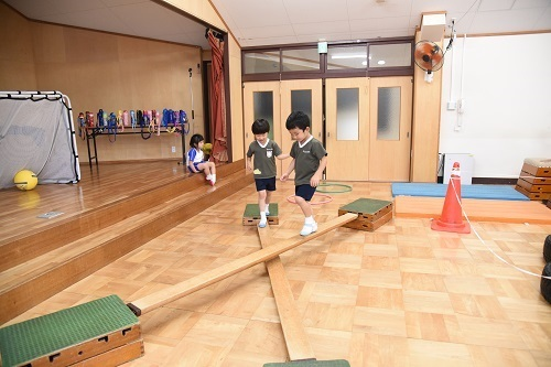 年長 体育教室_c0058507_18315664.jpg