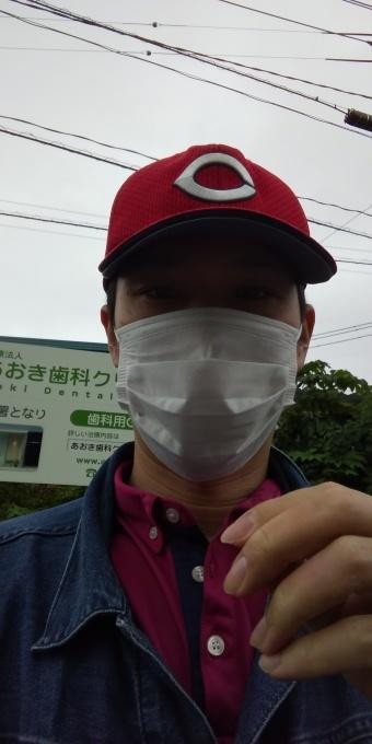 本日もアベノマスクよりコンビニのマスクで介護現場に出勤です!_e0094315_07481697.jpg