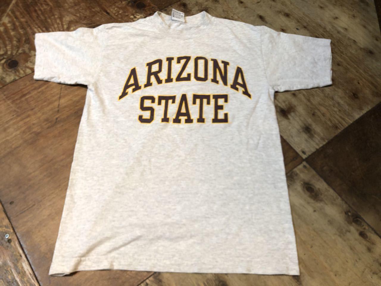 7月11日(土)入荷!90s MADE IN U.S.A sports wear co ARIZONA STATE カレッジTシャツ!_c0144020_13331821.jpg