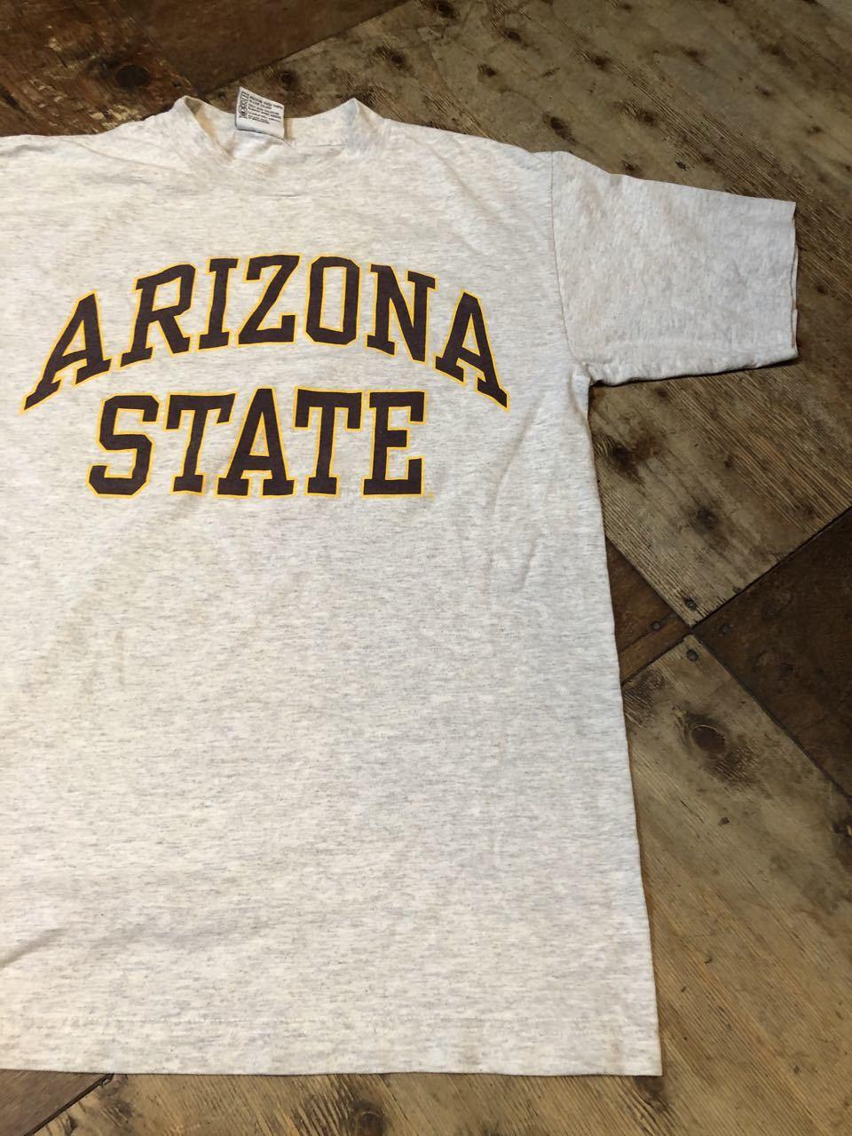 7月11日(土)入荷!90s MADE IN U.S.A sports wear co ARIZONA STATE カレッジTシャツ!_c0144020_13332252.jpg