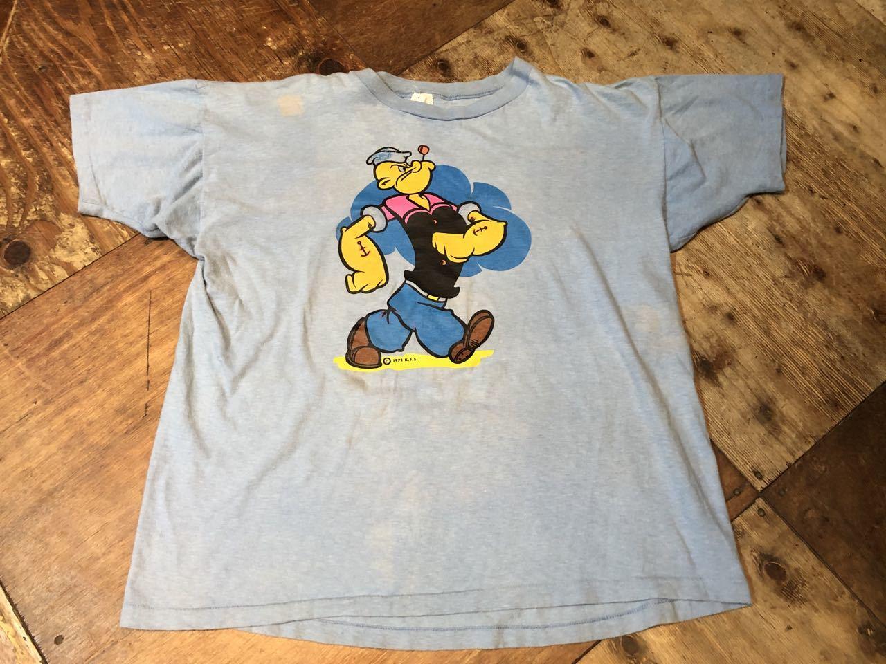 7月11日(土)入荷! 70s Spruce ビンテージ POPEYE Tシャツ!_c0144020_13401195.jpg