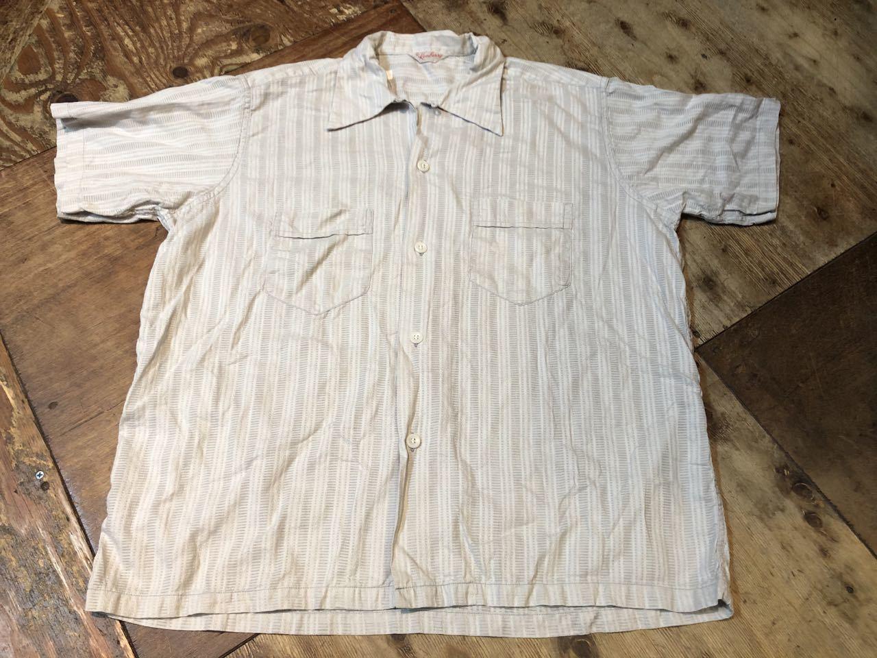 7月11日(土)入荷!50s all cotton Kenberry オープンカラーシャツ!_c0144020_13434257.jpg