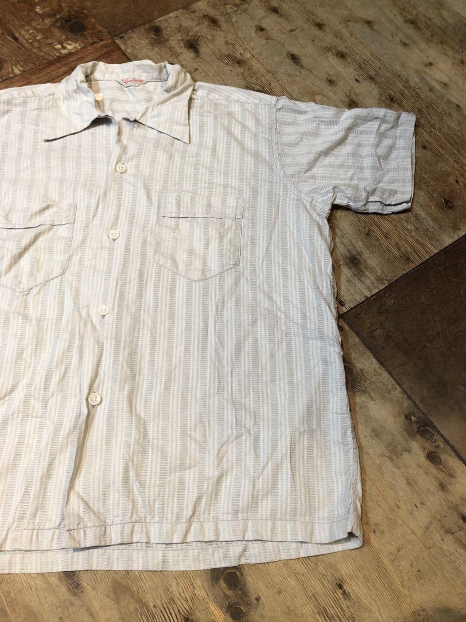 7月11日(土)入荷!50s all cotton Kenberry オープンカラーシャツ!_c0144020_13434536.jpg