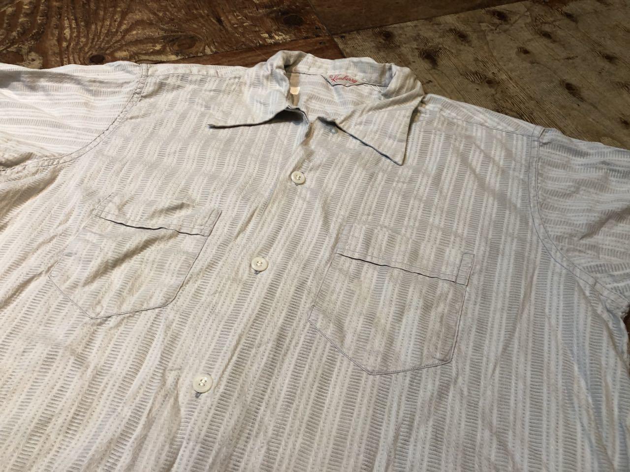 7月11日(土)入荷!50s all cotton Kenberry オープンカラーシャツ!_c0144020_13434656.jpg