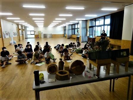 小学校訪問授業(一緒に森へ行こう) 豊川市立八南小学校_d0105723_08220533.jpg