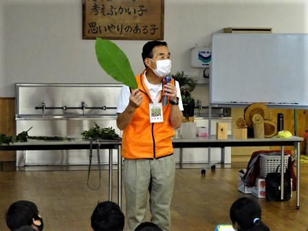 小学校訪問授業(一緒に森へ行こう) 豊川市立八南小学校_d0105723_08222969.jpg