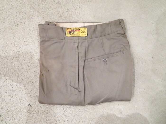 50\'s DEAD STOCK WASHINGTON DEE CEE WORK TROUSERS NOS  _e0187362_19222049.jpg