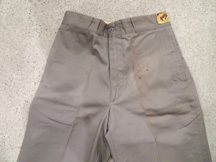 50\'s DEAD STOCK WASHINGTON DEE CEE WORK TROUSERS NOS  _e0187362_19234514.jpg
