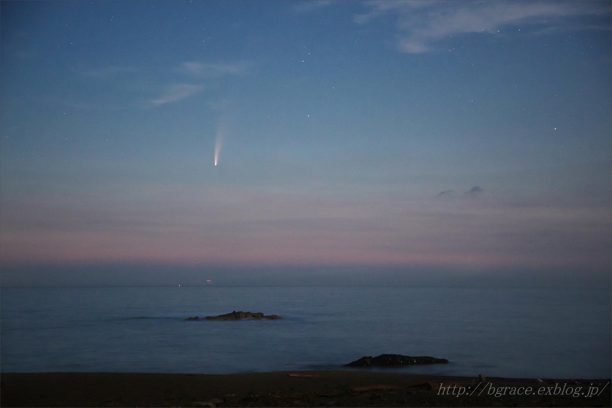ネオワイズ彗星 C/2020F3 岩手県 後半 END_b0191074_20530235.jpg