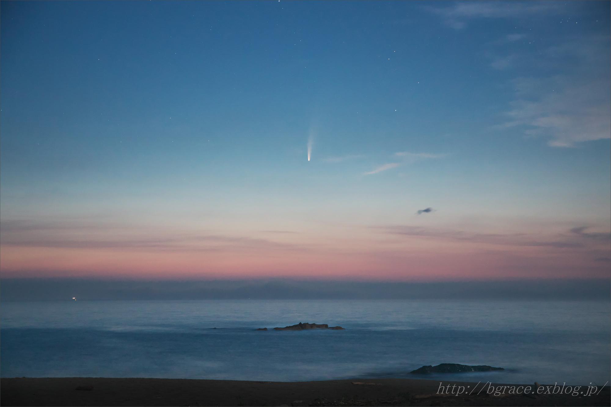 ネオワイズ彗星 C/2020F3 岩手県 後半 END_b0191074_20531634.jpg