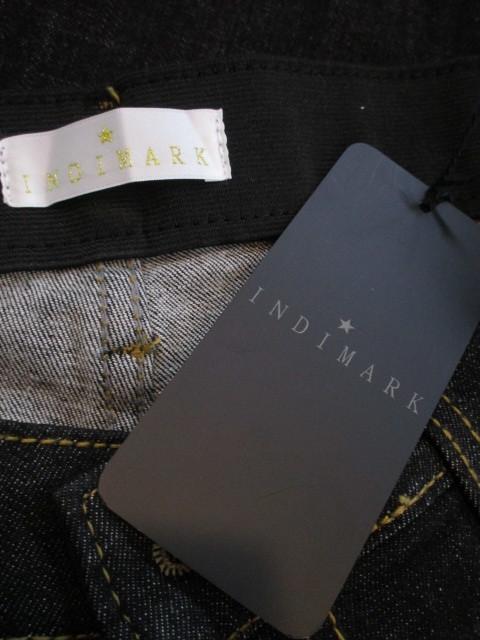 インディマーク INDIMARK スソ切り替えデニム WJ012 BLACK_e0076692_20004757.jpg